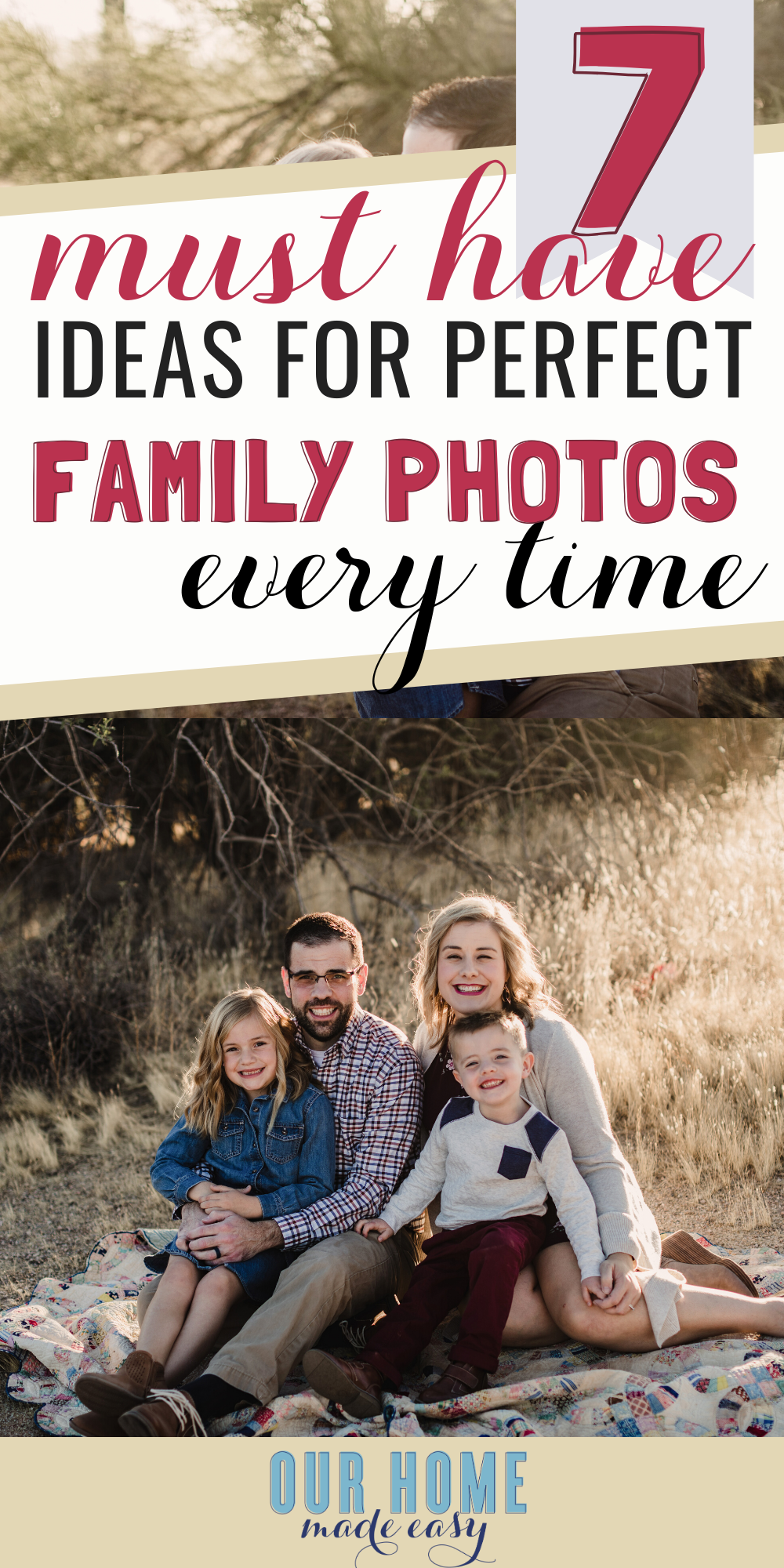how to make family photo outfit ideas