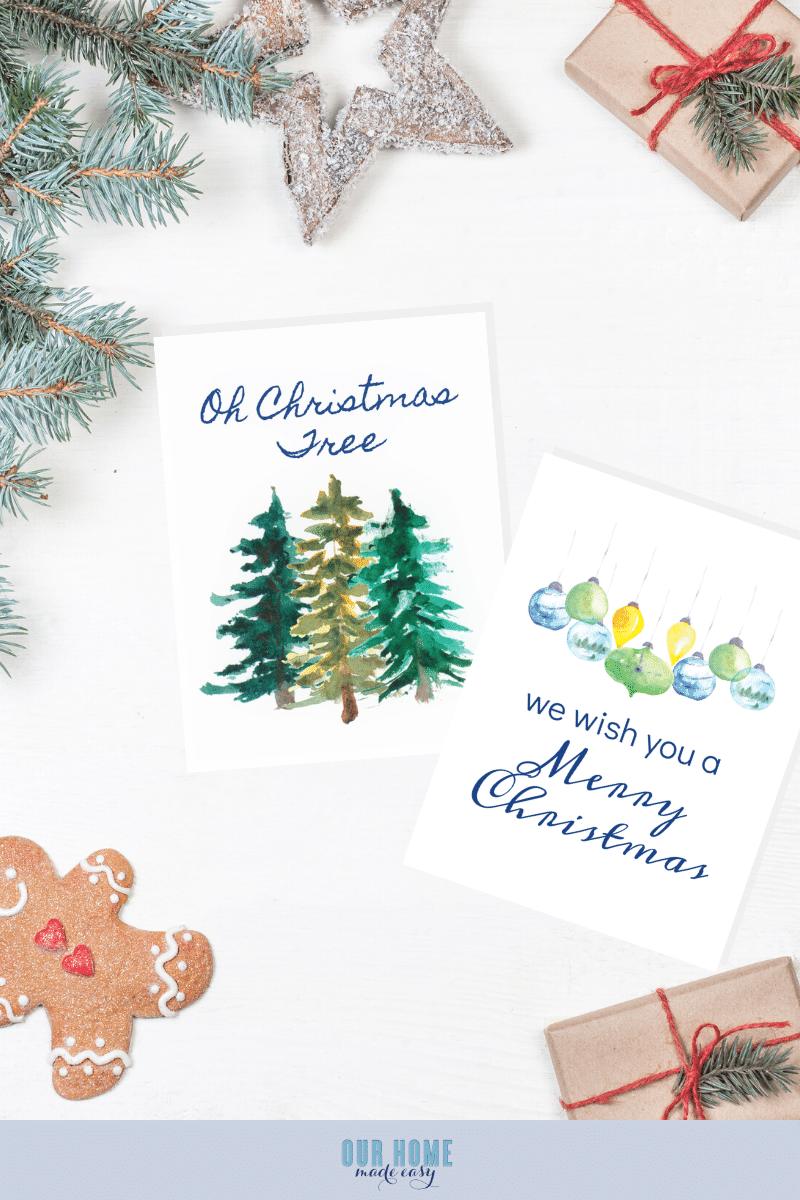 These free Christmas printables are the perfect office Christmas decorations! Print out and frame for your office desk