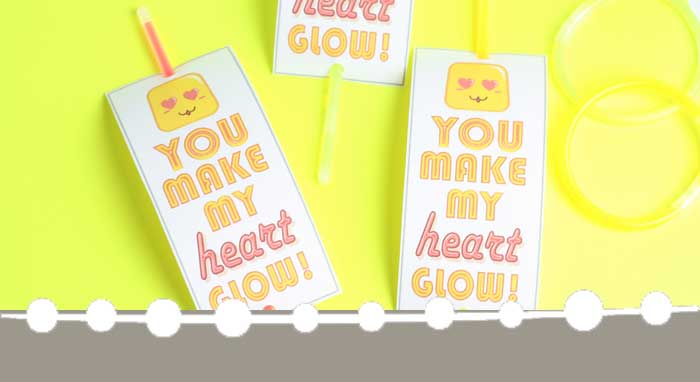 Glow Stick Valentines: Simple DIY Valentines for Kids