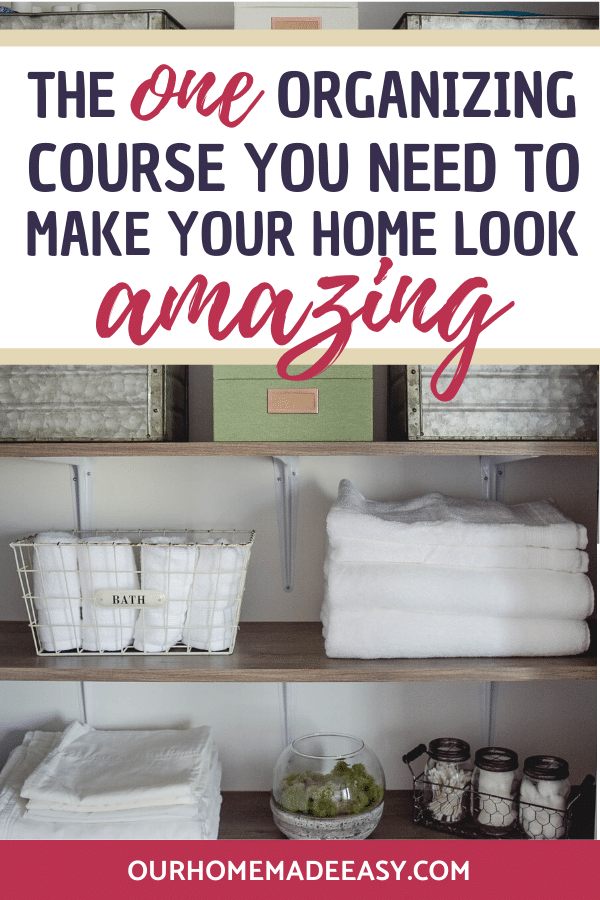 how to make a home organized with impactful habits organized home