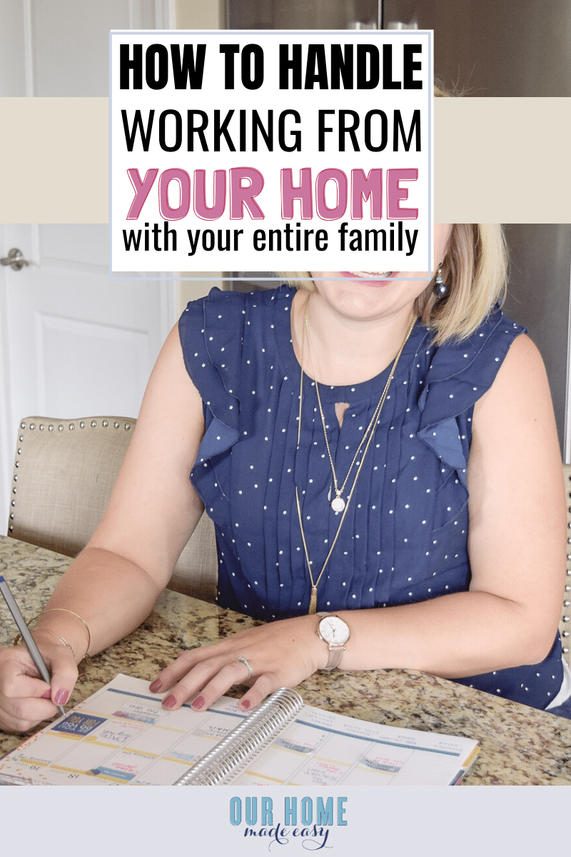 Working from Home With Your Family