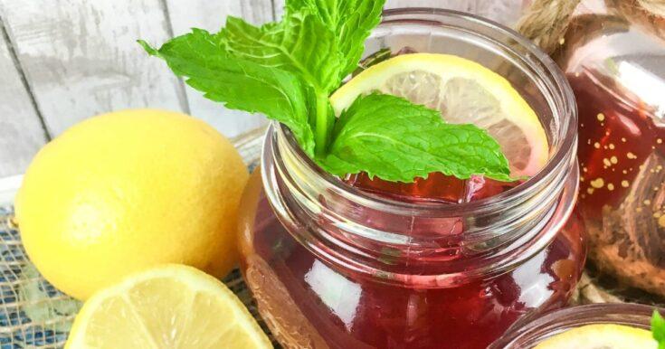 Refreshing Passion Iced Tea Lemonade Recipe