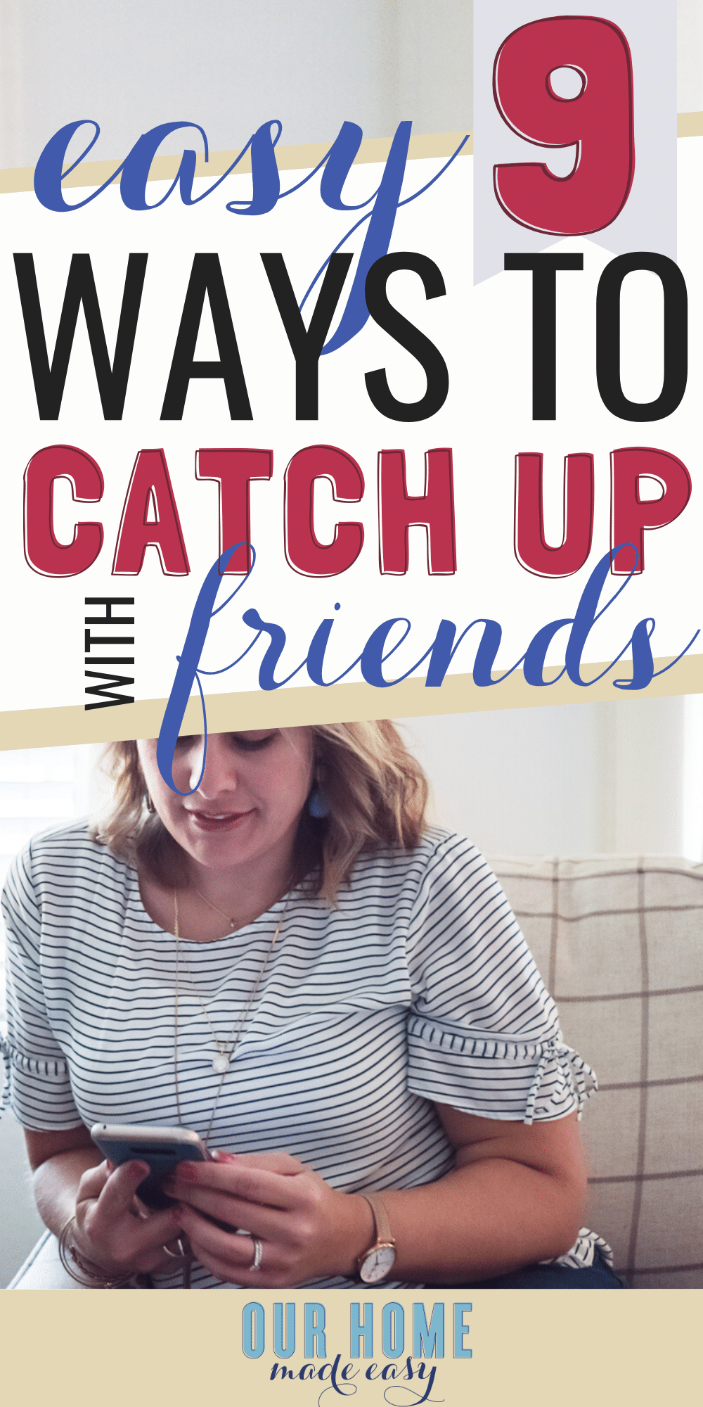 Has it been a while since you had a great time with your friends? Use these ideas on ways to catch up with old friends to make it a new habit that you enjoy!