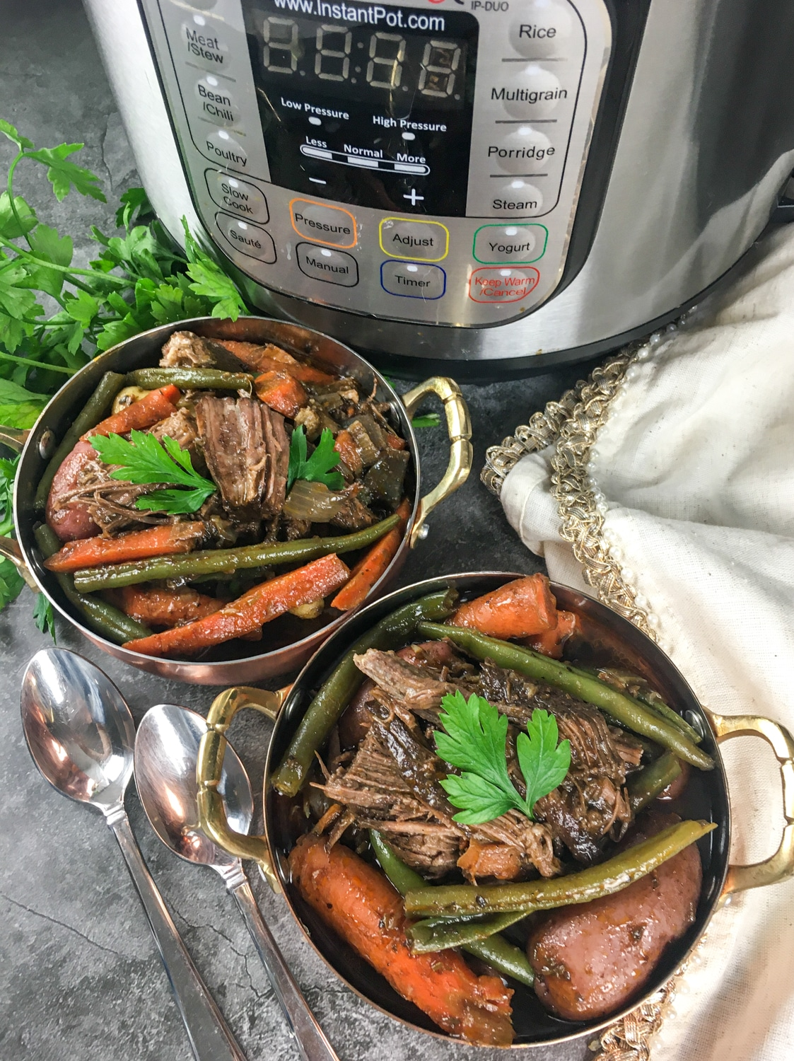 Instant Pot Beef Roast Finished